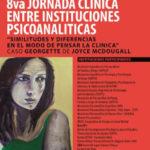 8va Jornada Clínica entre Instituciones Psicoanalíticas