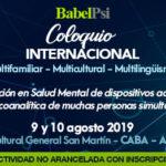 Trabajos presentados en el Coloquio Internacional 2019